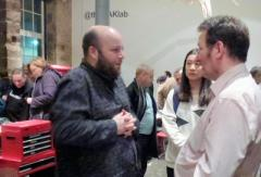 Bruce Newlands of MAKLAB in conversation with Colin Hindle