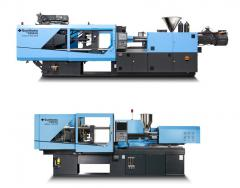 top: El-Exis SP 300 hybrid machine;  bottom: Int-Elect Smart 100 all electric machine