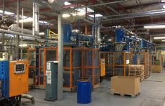 DS Smith Foam Products moulding machines at Livingston