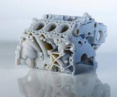 Automotive prototype produced by Objet Polyjet Technology