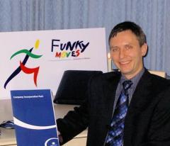 Ralf Klinnert, Managing Director of Funky Moves Ltd