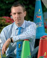 Ralf Klinnert: Managing Director of Funky Moves and inventor of Funky Cones