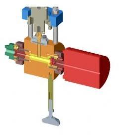 ULTRAMELT ultrasonic heating attachement to an extruder